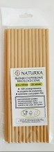 Ecological paper straws - 25 pieces (100% ...