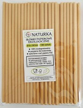 Eco-friendly paper straws - 100 pieces (100% ...
