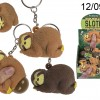 Squeeze sloth keychain
