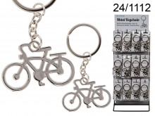 Metal Bicycle Keychain
