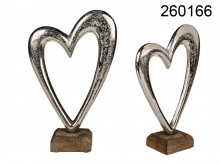 Metal Heart with a Base