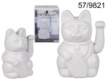 Lucky white cat XL