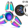 Metal Crazy Gyro Spinner - Rainbow I