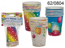 Birthday cups (6 pieces) - LAST OUTLET