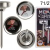 Meat thermometer stainless steel - set of 2 pieces