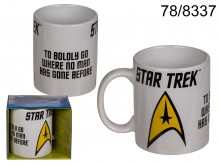Star Trek fan mug