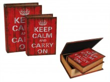 "Set of ""Keep Calm"" Boxes"