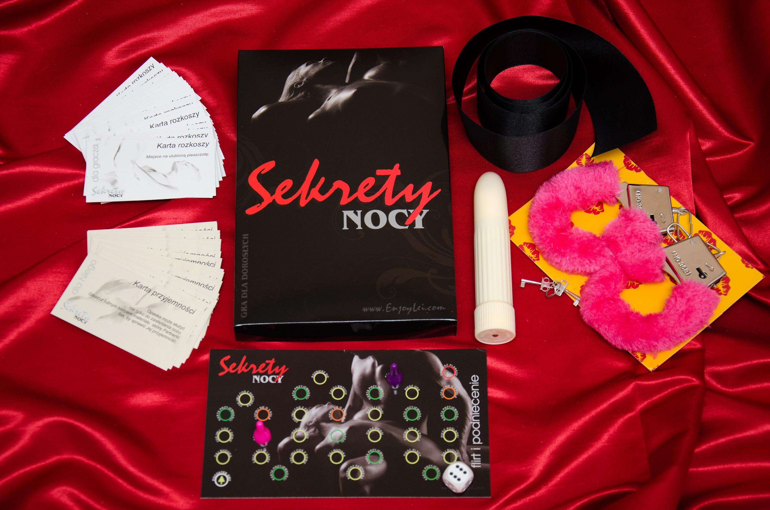 Erotische Spiele -<br>Secrets of the Night