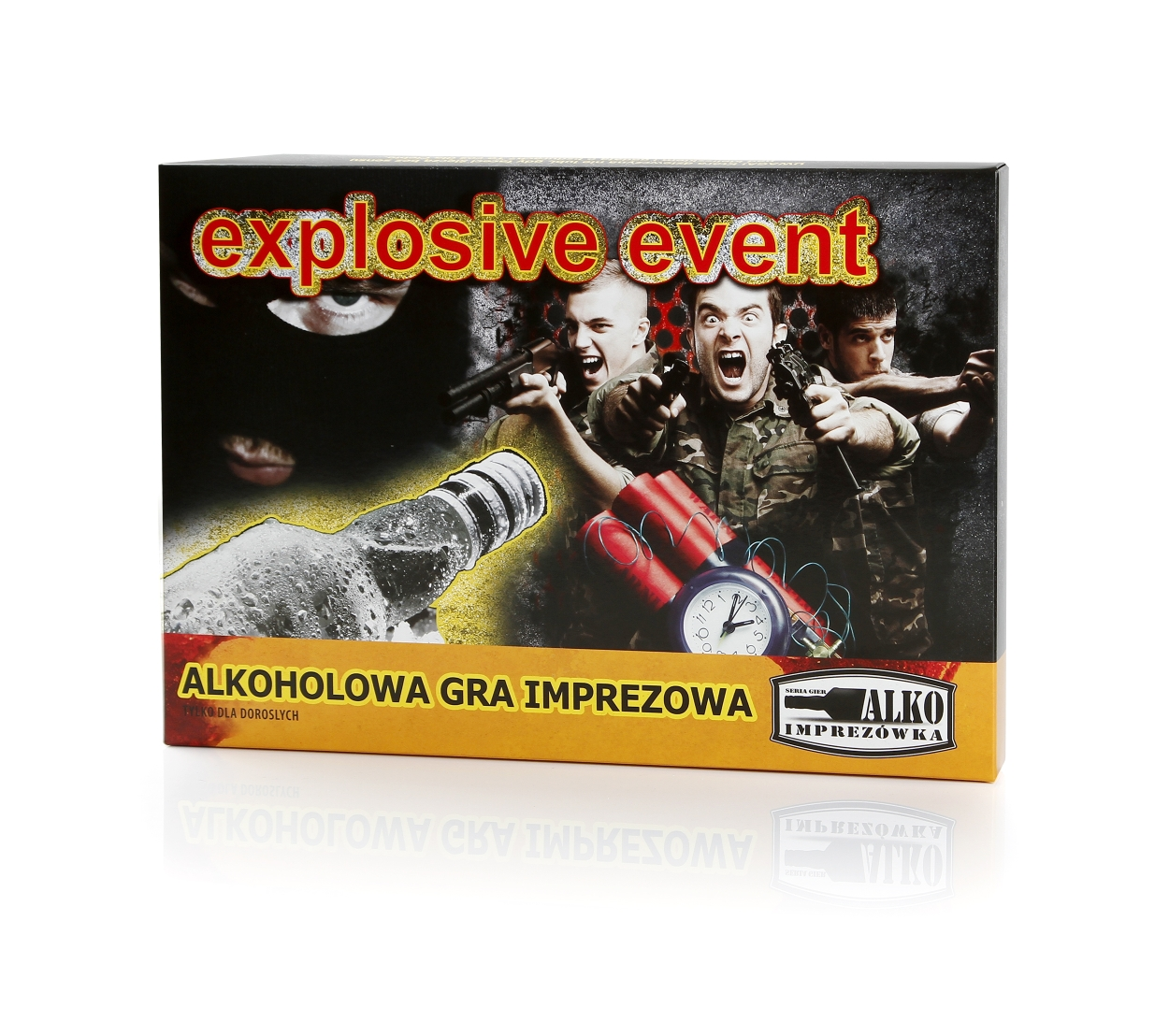 Party game<br>Explosive Event