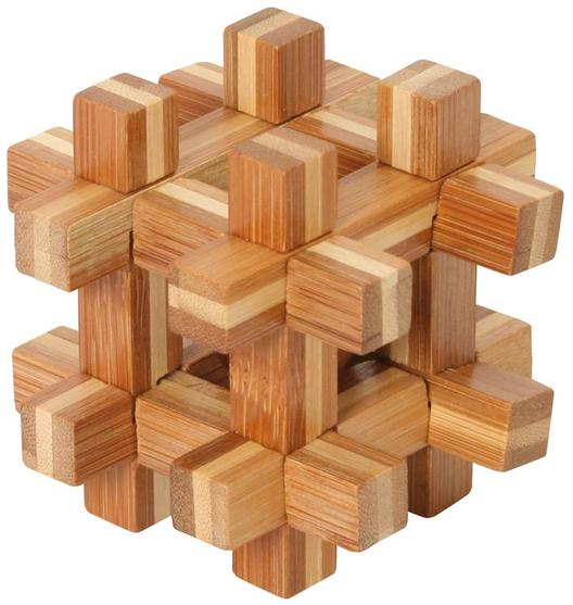Bamboo Puzzle Ball<br>in Prison
