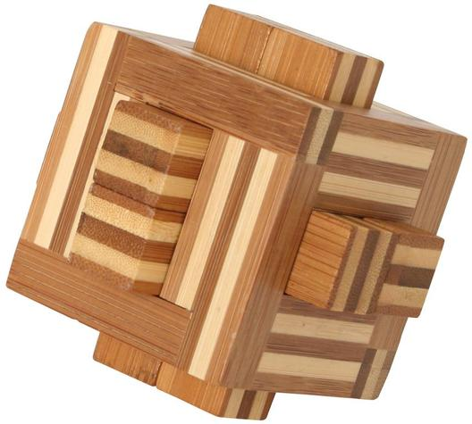 Bamboo Puzzle Cube B