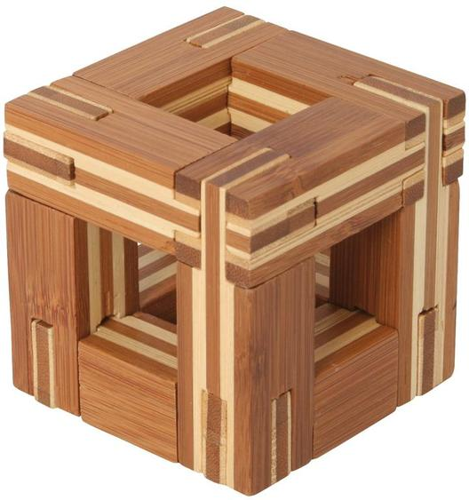 Bamboo Puzzle Cube C
