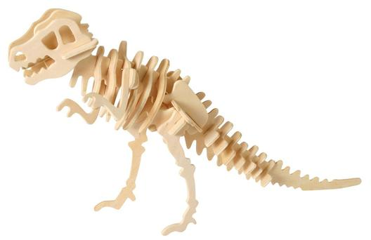Wooden 3D Puzzle -<br>Dinosaurs