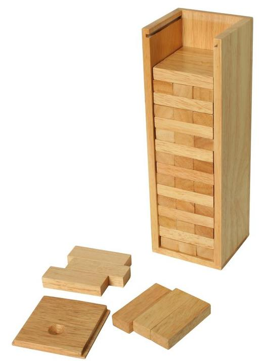 Stacking Tower -<br>with a Wooden Box