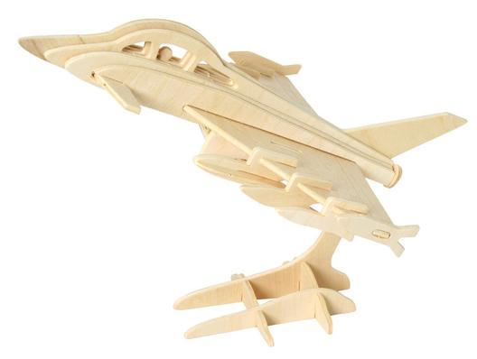 Wooden 3D Jigsaw<br>Puzzle - Plane