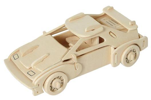 Wooden 3D Jigsaw<br>Puzzle - Car
