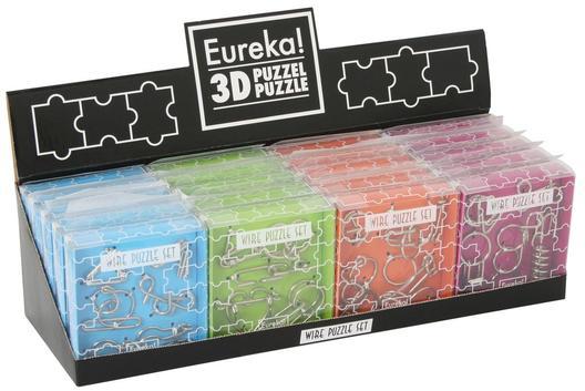 Eureka Wire Puzzle Set