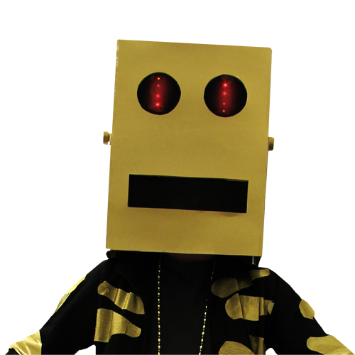 Mask robot head