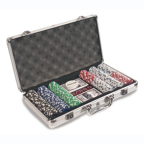 Póker szett -<br>alumínium esetében
