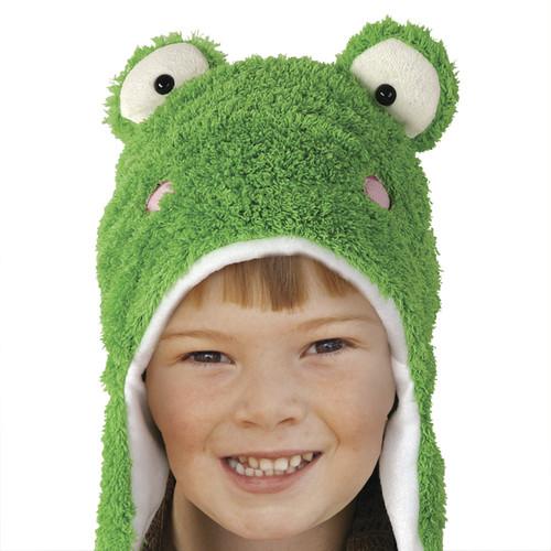 Czapka dziecięca żabka