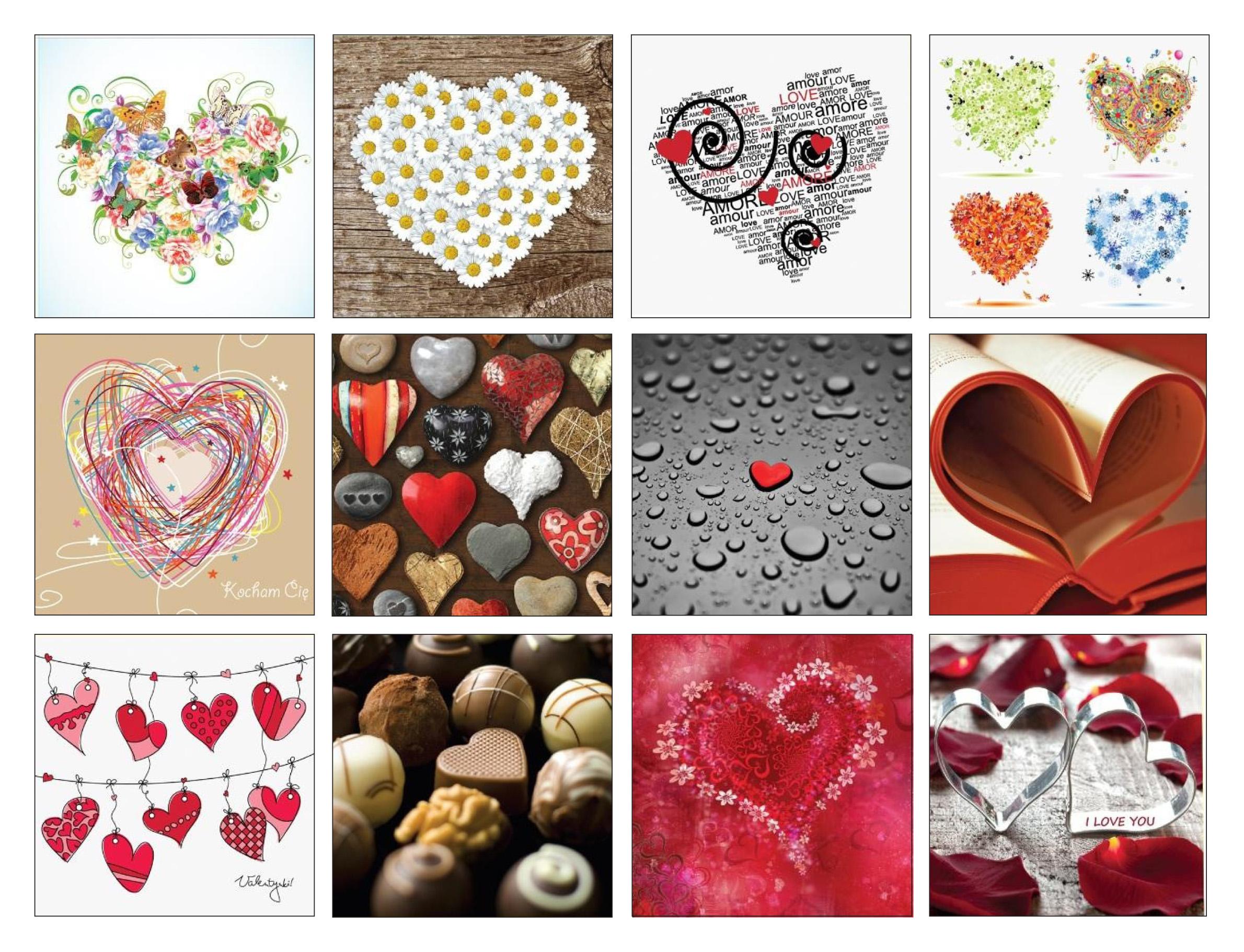 Valentine<br> passieren den<br>Umschlag