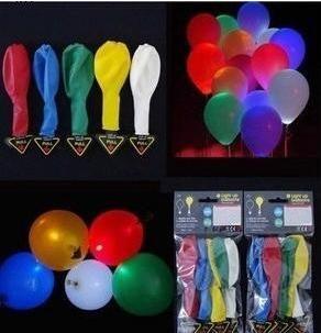 Léggömböket LED
