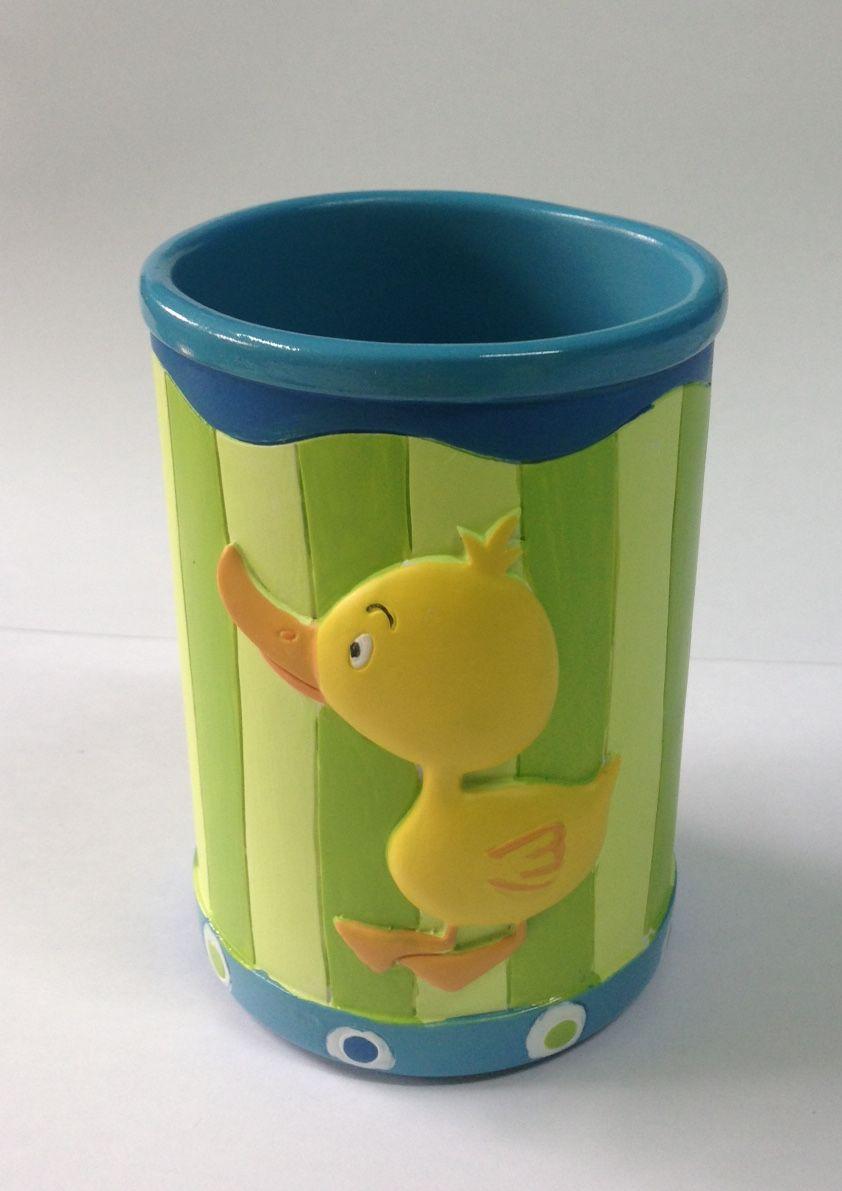 Cup ins Bad Ente