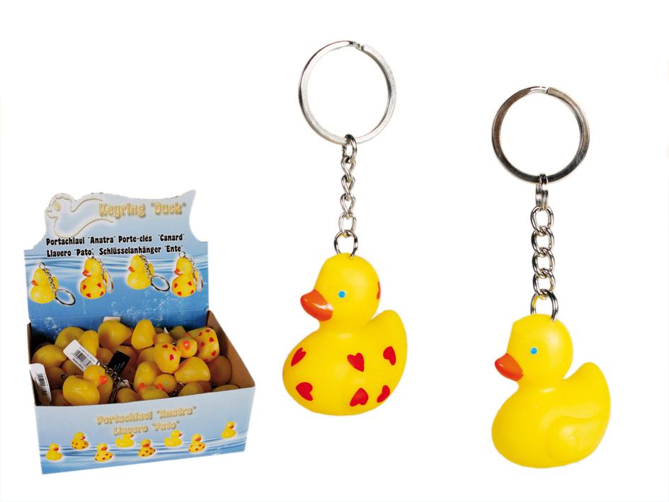 Schlüsselanhänger Ente