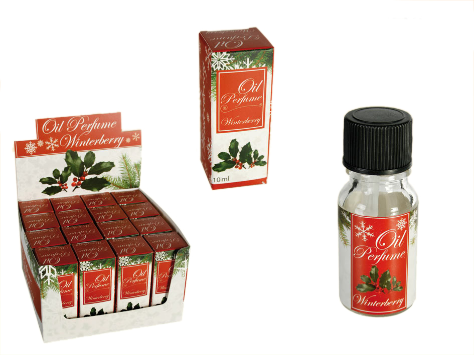 Duftöl 10ml -<br>Winterberry