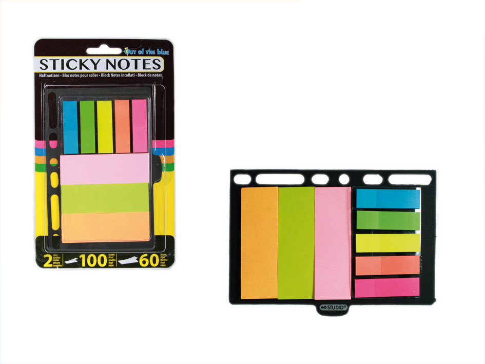 Set of sticky notes