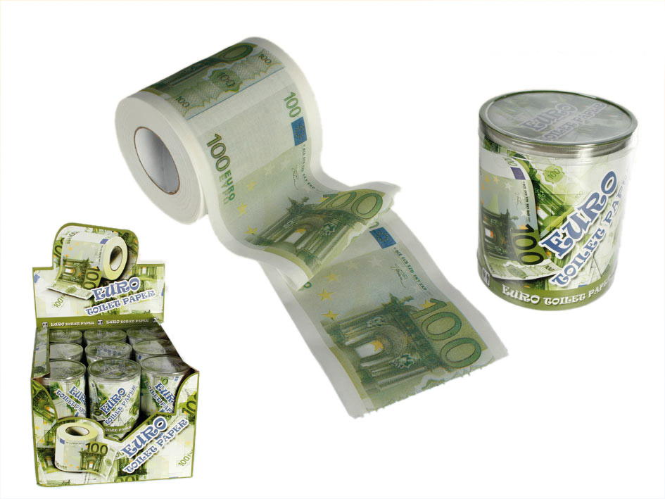 100 EUR Toilet Paper