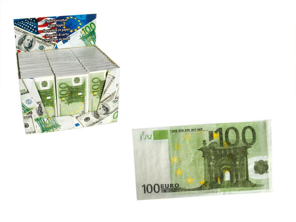 100 EUR Napkins