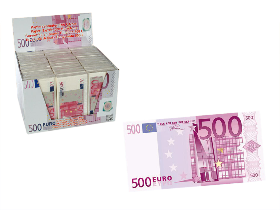 500 EUR Napkins