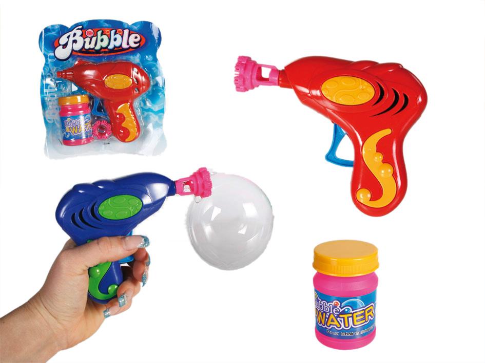Gun, um Blasen zu machen