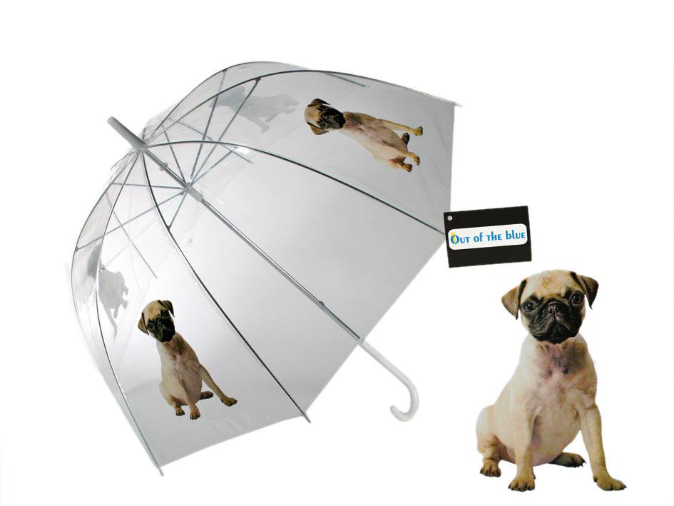 Umbrella with a Dog