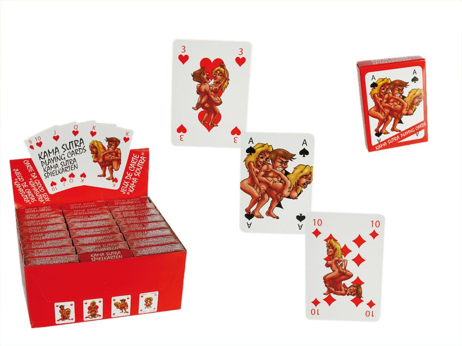 Kama Sutra Spielkarten
