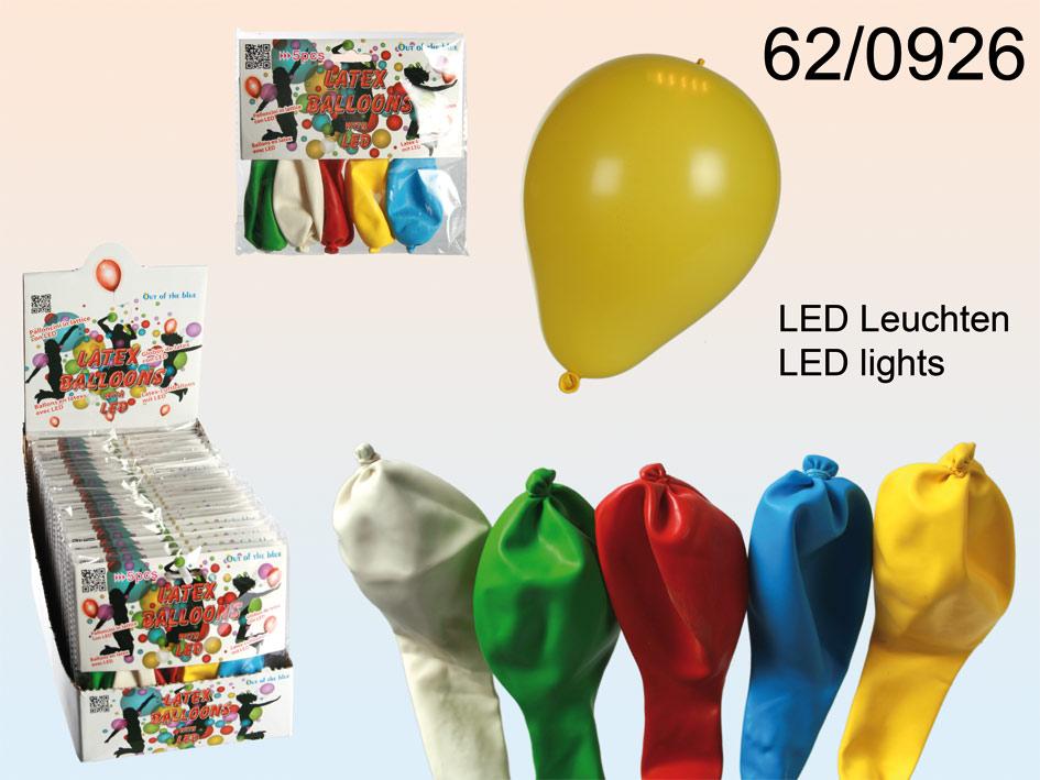 Luftballons mit Licht