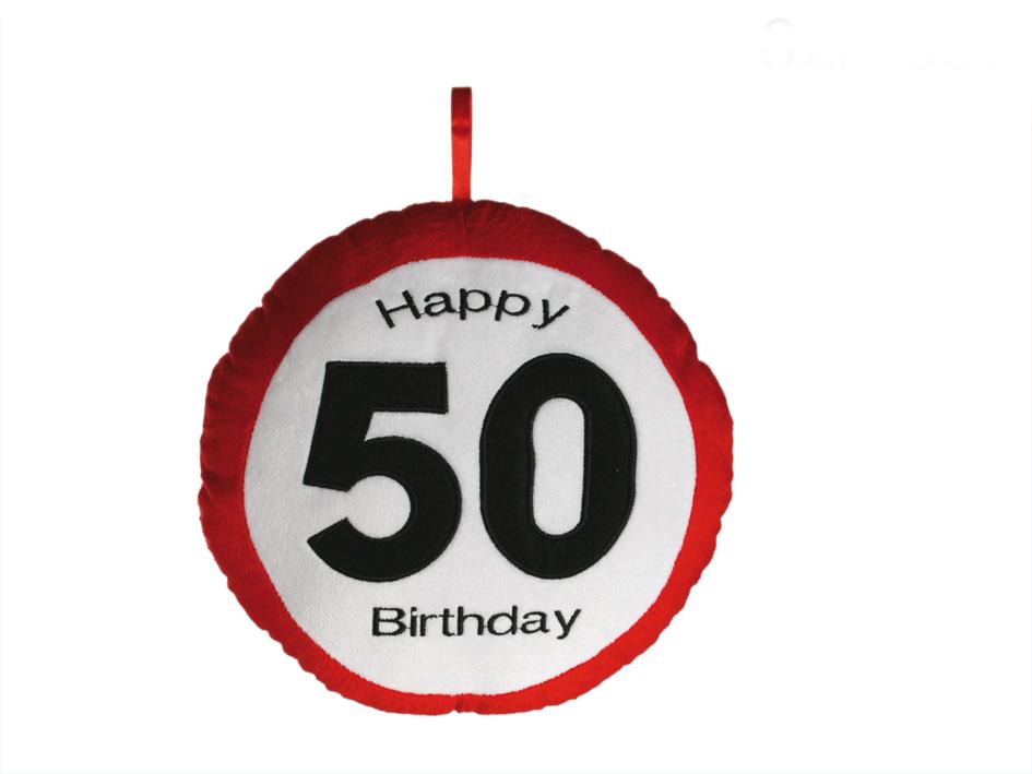 Pillow Geburtstag 50