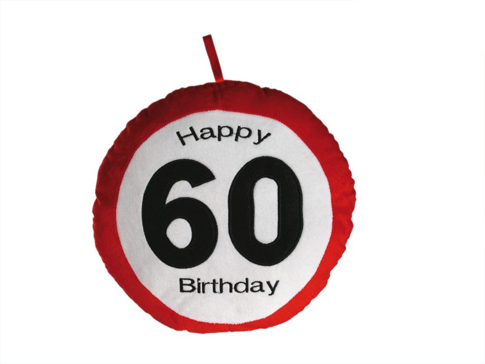 Pillow Geburtstag 60