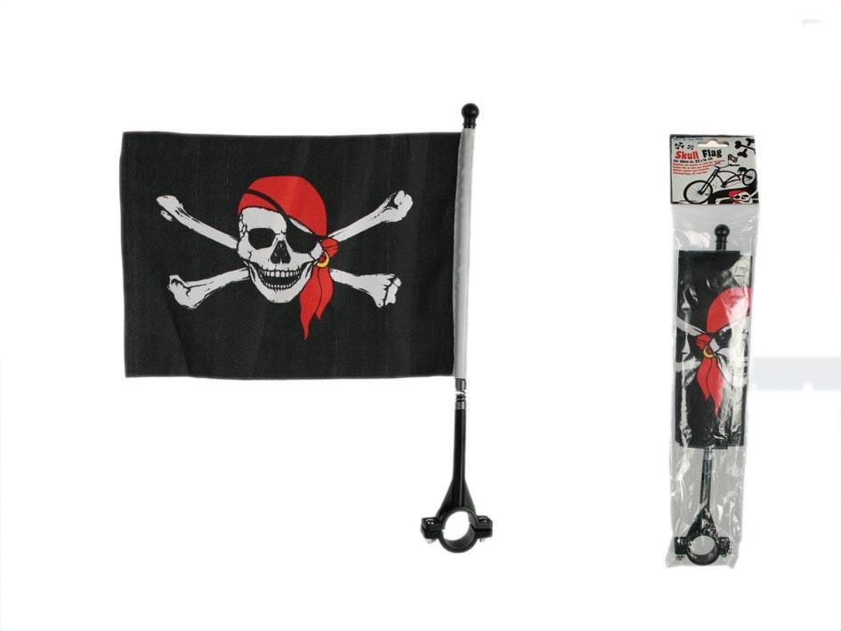 Pirate flag on bike