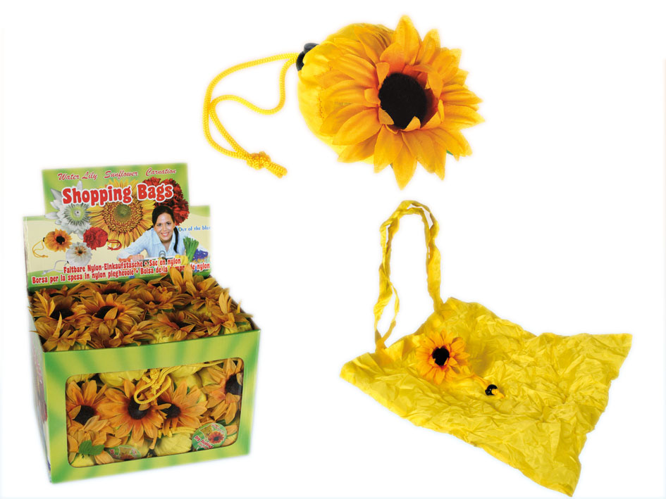 Reusable Shopping<br>Bag - Sunflower