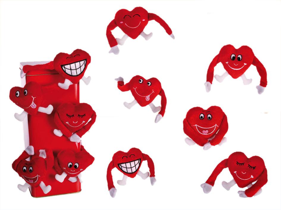 Plush Magnet Hearts