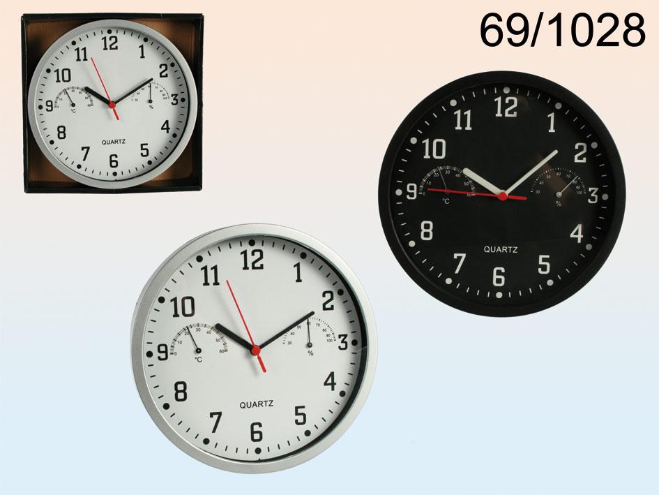 Clock mit Thermo und Hygrometer