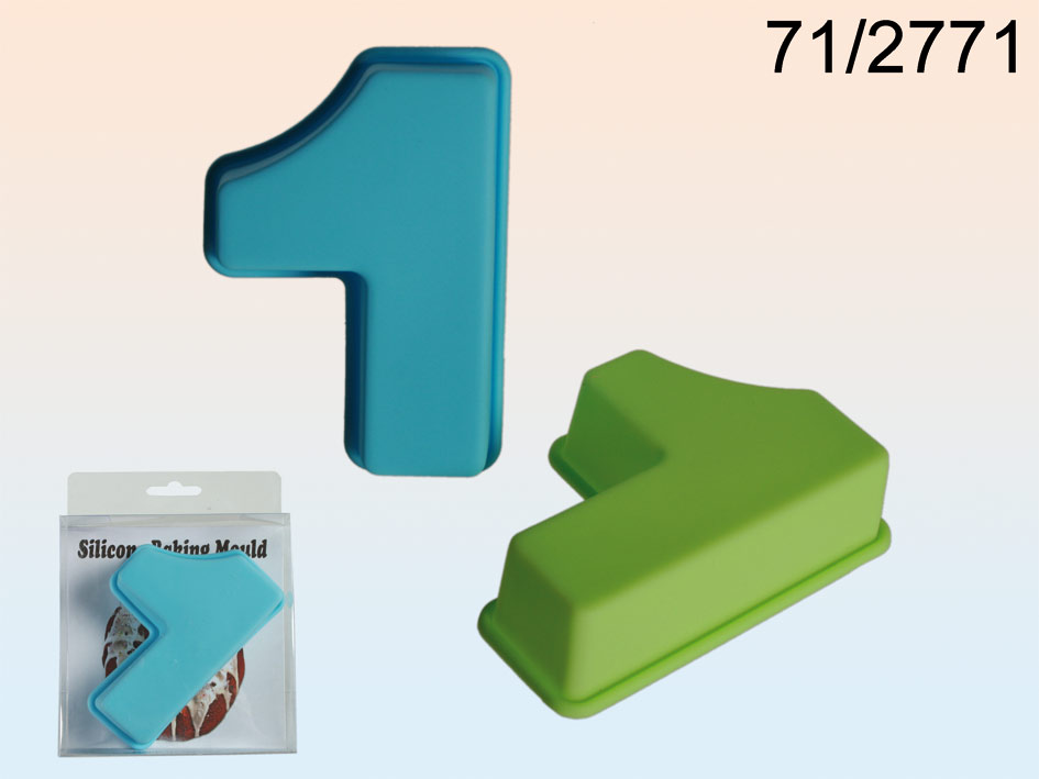 Silicone mold for cakes