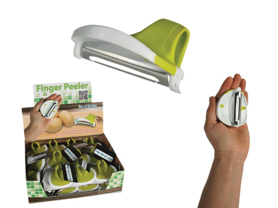 Peeler Kitchen on finger