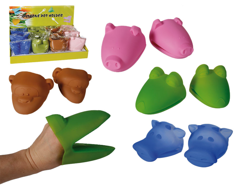 Silicone pot<br> holder for hot<br>dishes