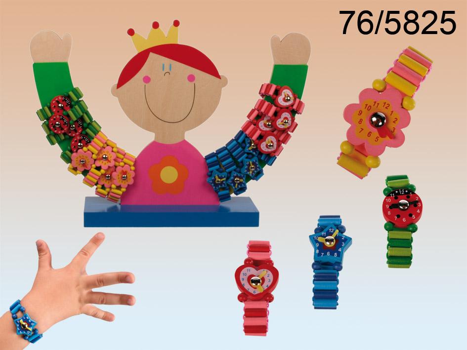 Wooden Uhr Kinder