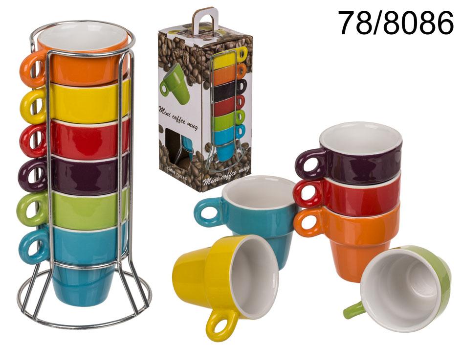 Set of Ceramic<br>Espresso Mugs