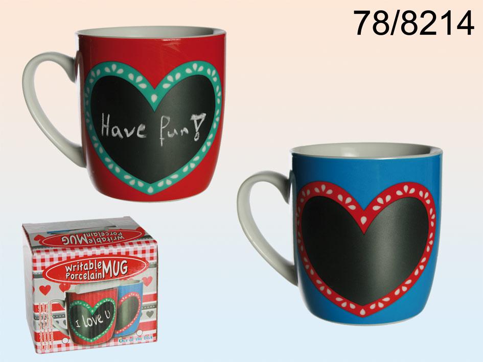 Mug memo heart