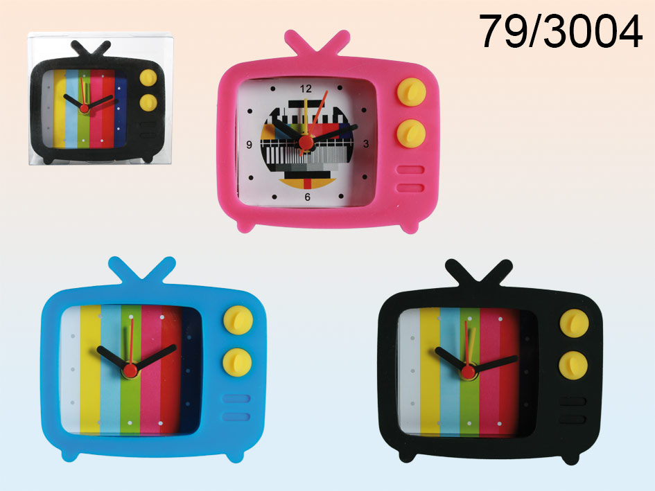 Budzik silikonowy TV